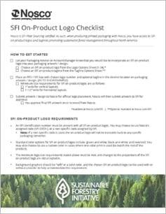 SFI Checklist Sheet