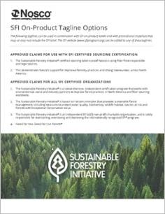 SFI Tagline Sheet